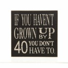 AGE '40' MAGNET