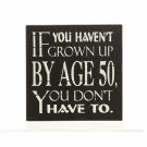 AGE '50' MAGNET