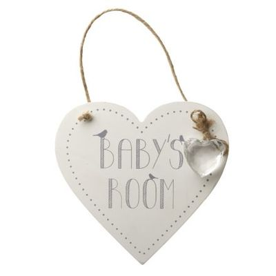 Heaven Sends - Baby's Room Heart Sign
