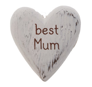 Sass & Belle - Best Mum heart token