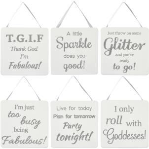 Transomnia - Absolutely Fabulous - Hanging sign
