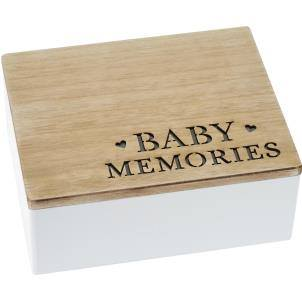 Transomnia - Baby Memories laser cut box